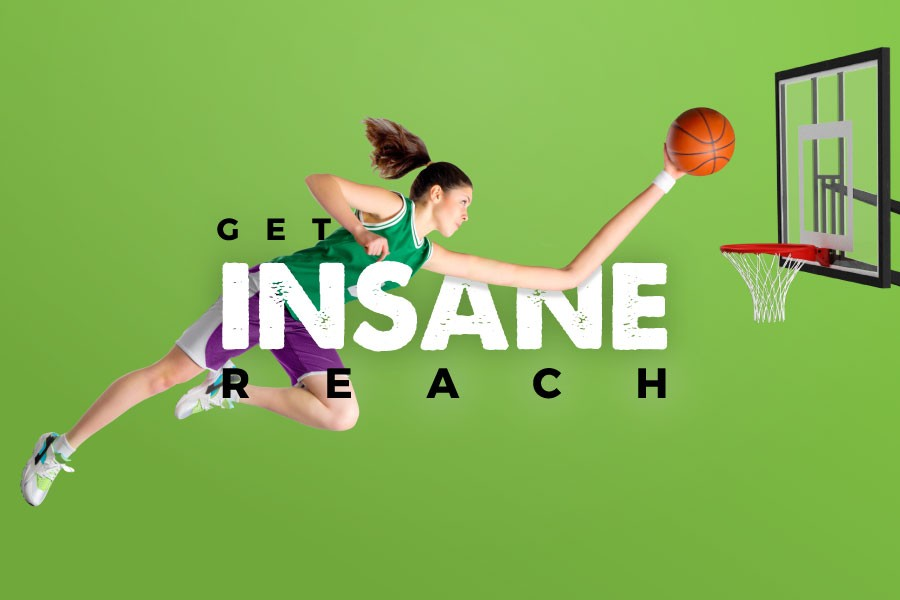 Get INSANE Reach in the Commonwealth Games