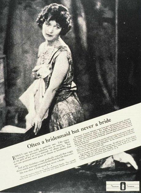 Listerine Vintage Ad